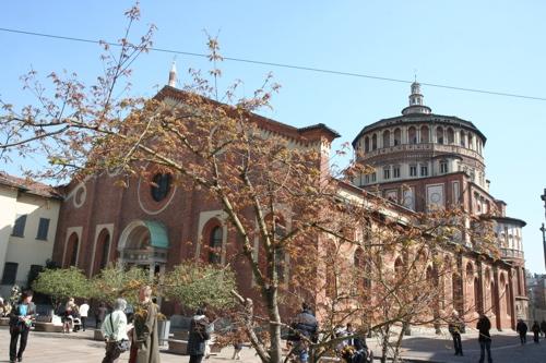 Basilique Ste Marie delle grazie (XVI siècle)