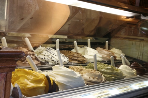 Ah les glaces italiennes !!!!