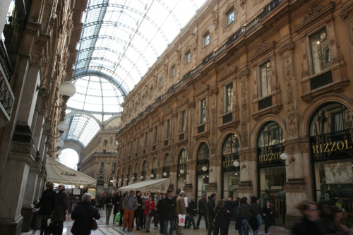 La gallerie Victor Emanuel II