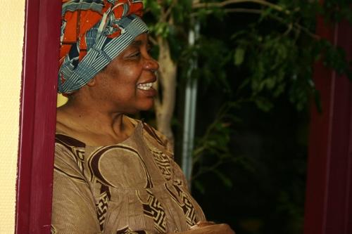 Madame Mabé heureuse d'être entourée pour son projet