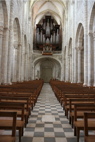 Les orgues restaurés ; des concerts sont donnés régulièrement.