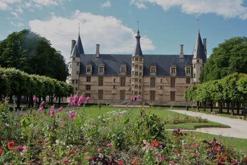 Chateau de Nevers, palais ducal, 15 et 16ème siècle