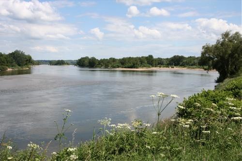 La Loire borde le canal ou le canal borde la Loire toujours aussi majestueuse.