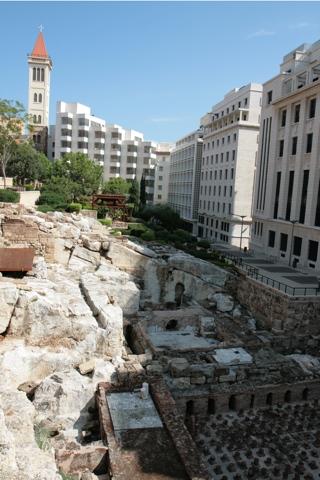 Beyrouth est une des villes les plus anciennes de la Méditerranée, les fouilles archéologiques sont nombreuse