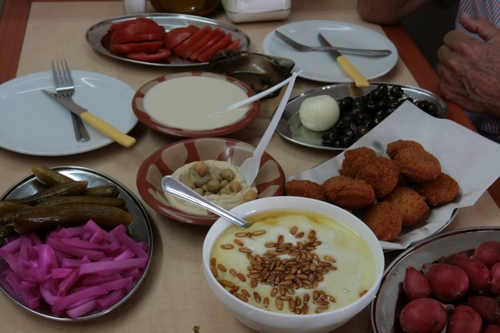 Beyrout Ouest, plat plus traditionnel libanais