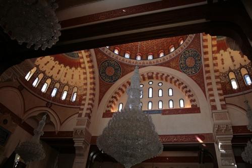 Intérieur de la Mosquée Al Amine, luxueux!