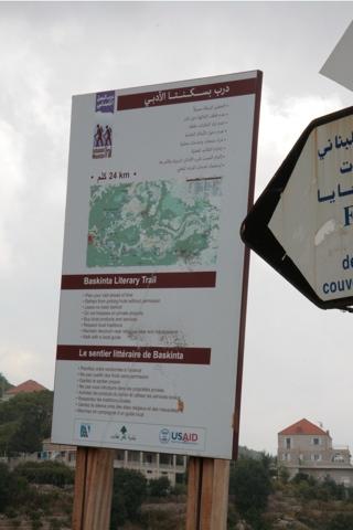 Toute la région sur un panneau