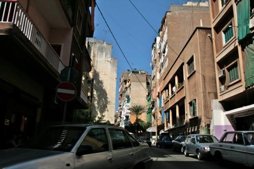Le quartier Mazraa à Beyrouth