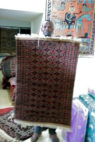 Vendeur de tapis...de la Bekaa
