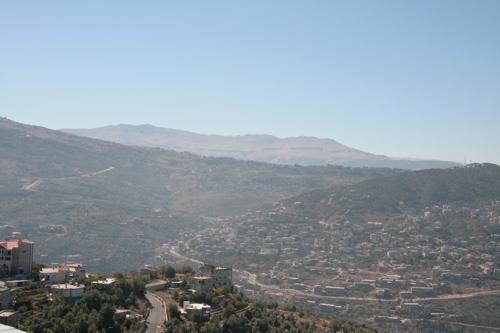 Une partie du paysage vu du haut du central