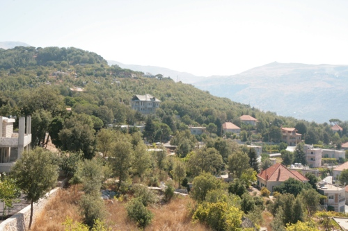 Vue d'ensemble du village