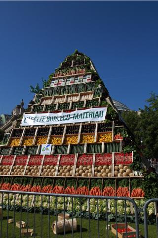 Pyramide de légumes...