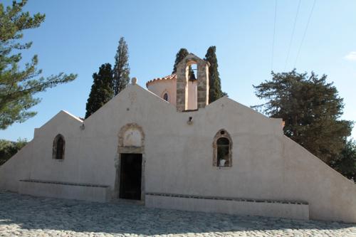 A l'autre bout de l'Ile, près d'Agios Nikolaos, Panagia Kéra, un bijou du X siècle.