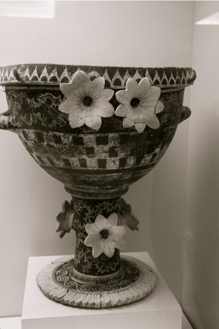 Cette coupe a été façonnée entre 1800 et 1700 avant JC. Musée d'Héraklion.