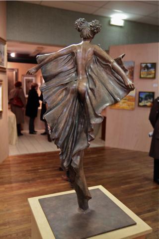"""""""Envol"""", j'ai bien aimé le contraste entre le trappé des ailes et la douceur du corps"""