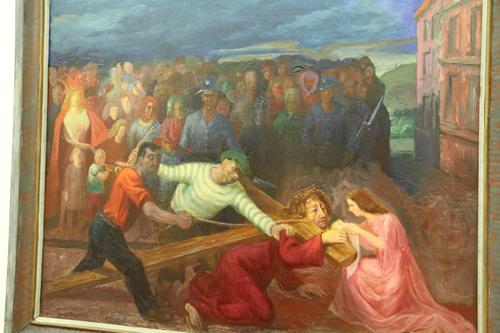 Le Christ et Véronique (1943) d'Otto Dix