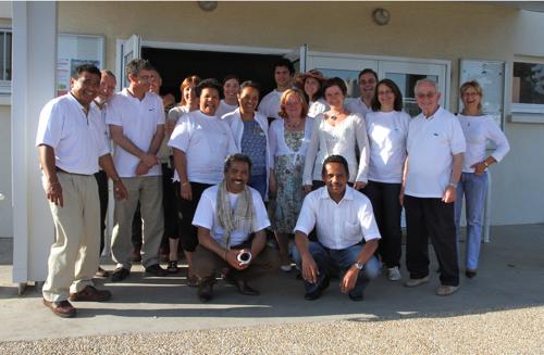 L'équipe de bénévoles qui ont participé à la préparation et au déroulement de cette journée.
