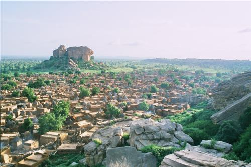 Le village de Sango