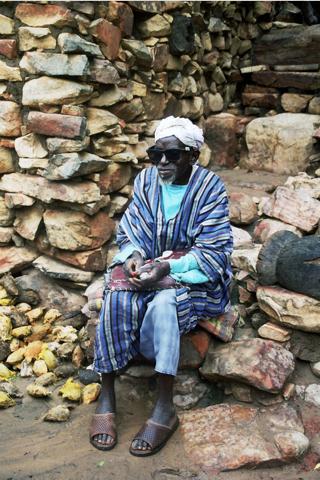 Monsieur Adama Karembé, chef du village de Niongono, commune de Pignari.