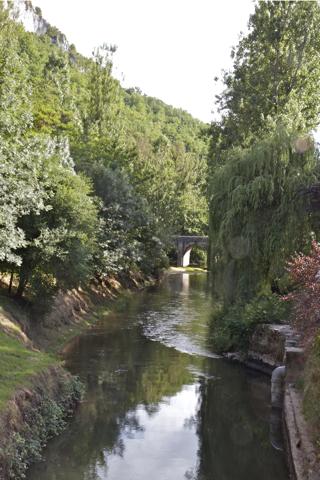 La vallée du Celé à Marcilhac