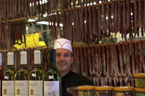 A Cahors, Ghislain Compozieux, 28 ans, 26 rue Denis Forestier, qui fait des saucisses de canard délicieuses