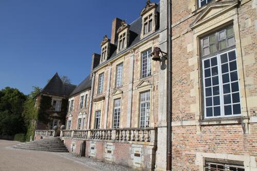 Le chateau de La Ferté St Aubin