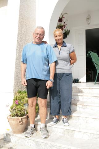 André et Mabrouka son épouse