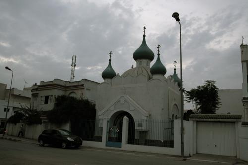 Une curiosité, l'église arménienne de Bizerte.