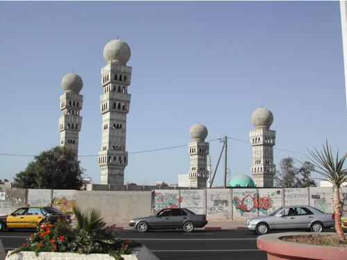 Une des grande mosquée de Dakar
