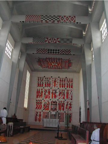 Abbaye catholique de Keur Moussa à quelques kilomètres de Dakar