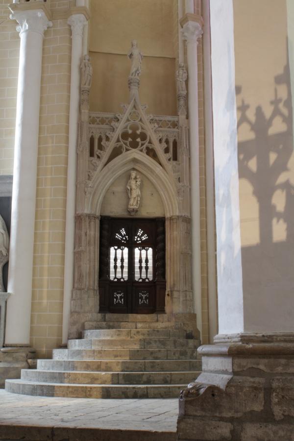 Entrée de la chapelle St Piat