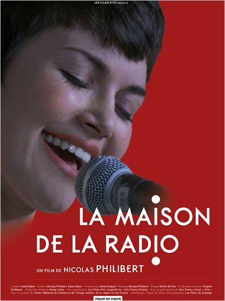 """L'affiche de """"La maison de la Radio""""...cette grande chanteuse est invitée comme nous dans cette Maison de la voix et du son."""