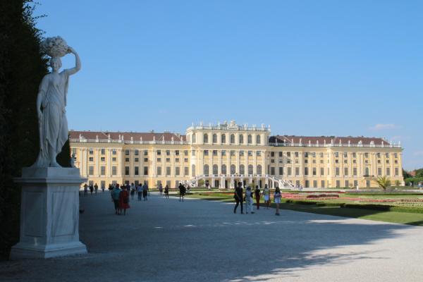 Palais vu des jardins