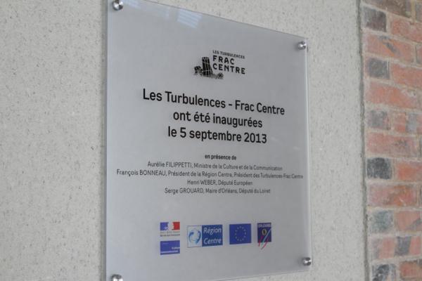 La plaque inaugurale