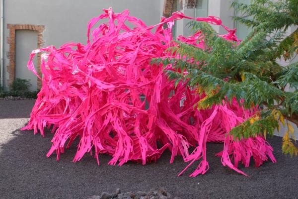 """Dans le jardin, """"Bloom"""" ensemble d'éléments en plastique de 40 cm qui se connectent entre eux."""