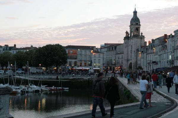 L'ambiance festive sur le port de La Rochelle à l'image de l'amitié de l'équipe du TEDx
