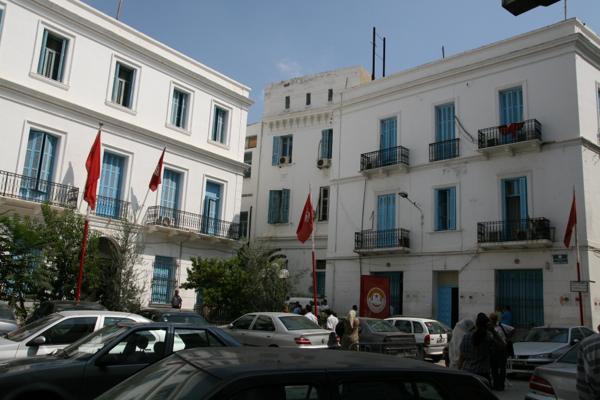 Siège du syndicat UGTT à Tunis