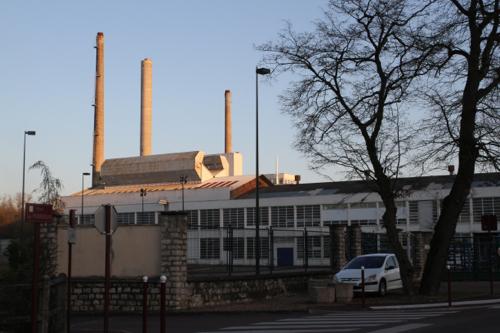 """Les usines de Bagneaux à quelques kilomètres de Dordives """"souvenirs"""" de cette industrie florissante."""