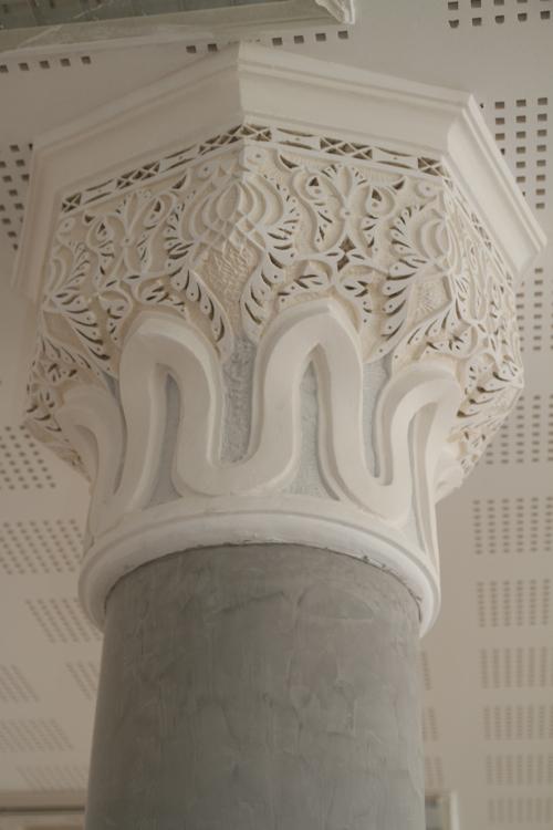 Un détail des piliers