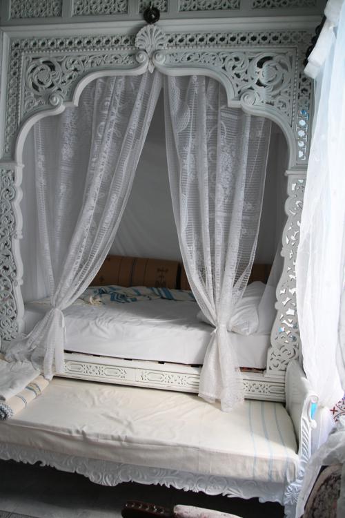 Dormir dans une alcôve...