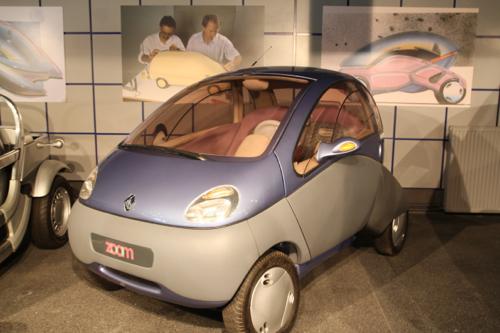 La Zoom, voiture pliable et électrique ! Après 1984