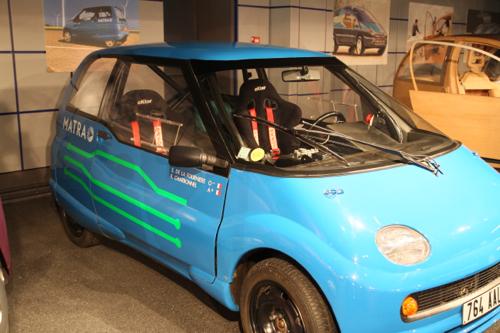 1992 Voiture électrique de compétition pour le Rallye de Suède. 150km/h