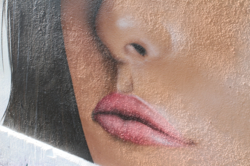 ...des lèvres