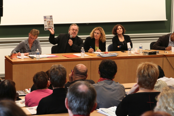 """""""Les rebelles dans les médias avec Anne-Claude Ambroise-Rendu, Claire Blandin, C. Delporte, Isabelle Veyrat-Masson et Pap Ndiaye"""