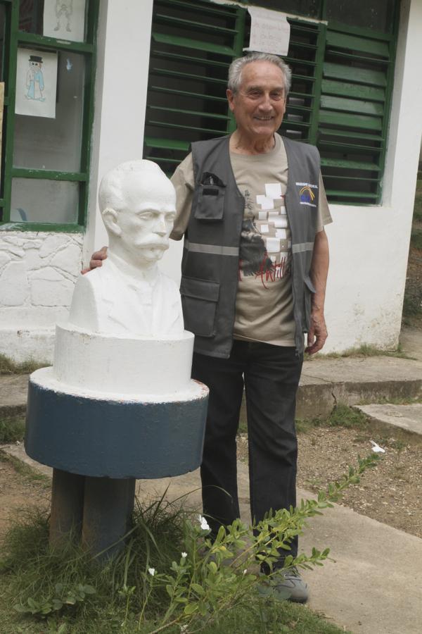 Paul Estrade en compagnie de José Marti