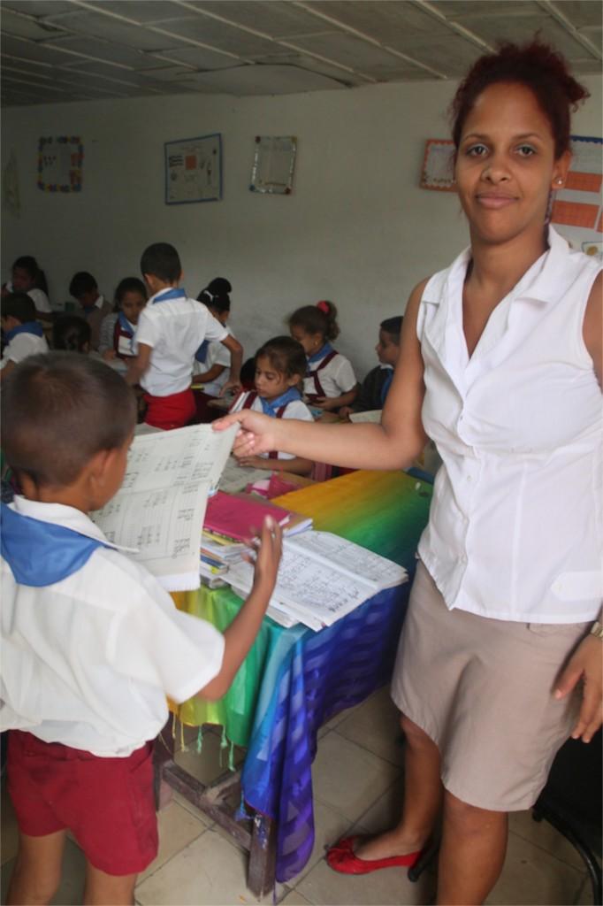 Ida est institutrice de primaire dans l'école de la communauté de Las Terrazas près de Pinar del Rio.