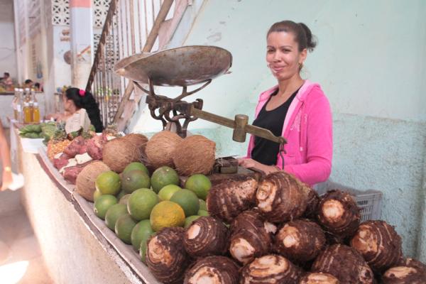 Au marché de Cienfuegos