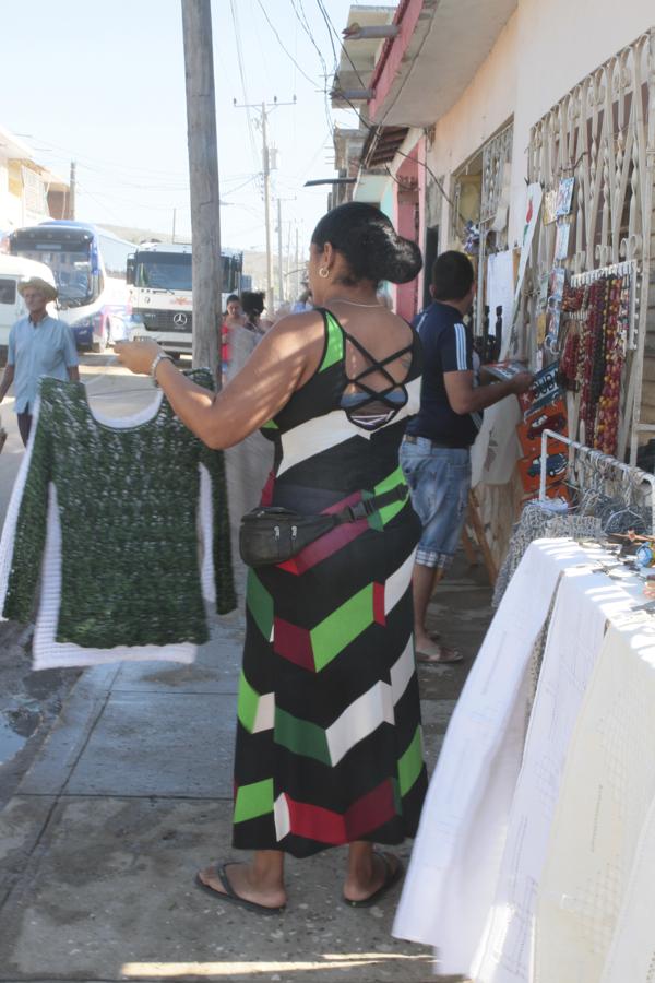 A Trinidad pour les touristes