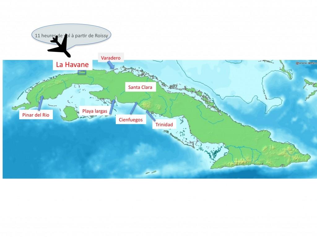 Dix jours de voyage dans l'Est et le Centre de Cuba