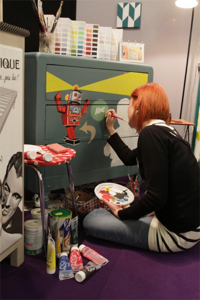 Aline Contamine  Peintre en décor